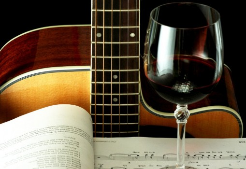 - Jazz and wine